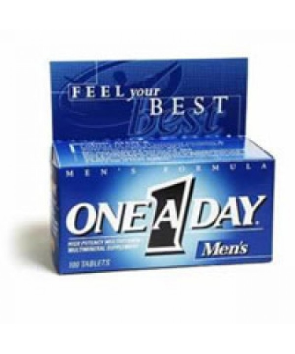 Bayer #1006238, ONE-A-DAY FOR MEN VIT TAB