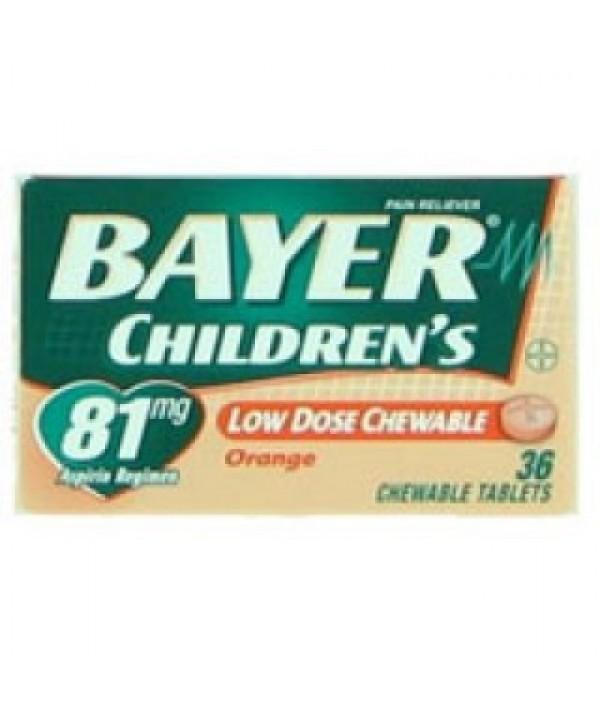 Bayer #1366830, BAYER ASPIRIN CHILD CHEWA