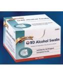BD #08290326895, Swab Surgical Prep Diabetes Care Alcohol 100/Pk, 12 PK/CA