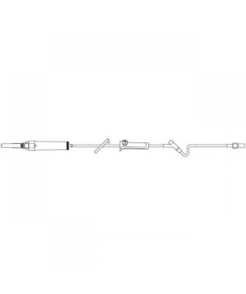 Baxter #1W5000, Sol Set 15micr Filt 20drp Y-SITE 75/Ca