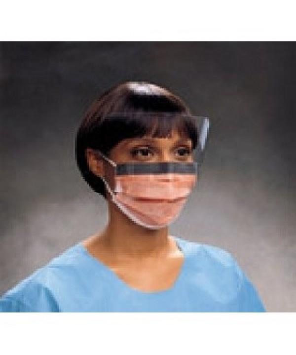 Kimberly-Clark #00146, Fluidshield Shield Mask Blue 25/BX, 4 BX/CS